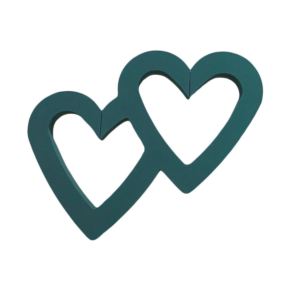 Heart Double Open 18 Spicer Designs Ltd